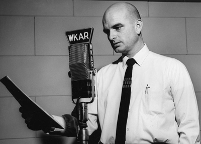 Dick Estell in 1964. Photo couresty of WKAR.