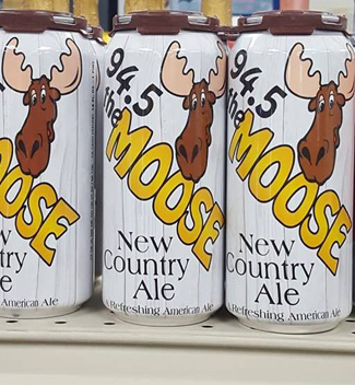 Moose New Country Ale Cans